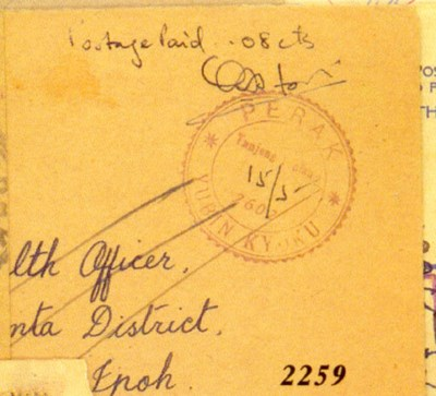 cover 1942 (15 May) envelope f