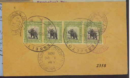 cover 1928 (26 Sept.) envelope