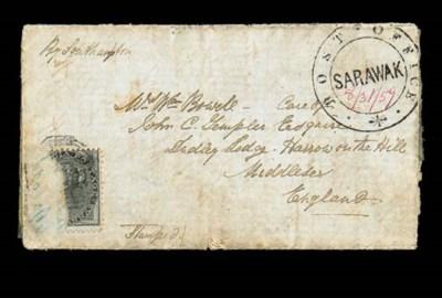 cover 1859 (31 Aug.) entire le