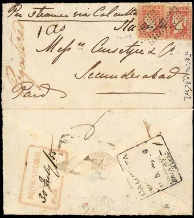 cover 1855 (30 July) envelope