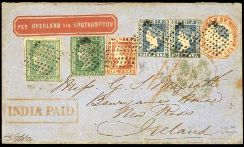 cover 1855 (2 Dec.) envelope t