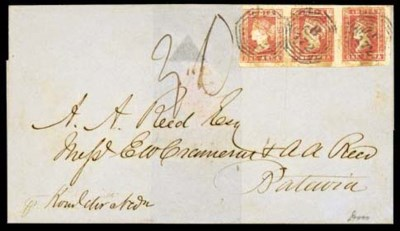cover 1858 (Oct.) entire to Ba