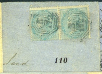 cover 1860 (Mar.) envelope fro