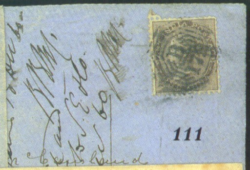 cover 1860 envelope from Londo
