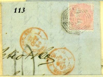 cover 1856 (20 Sept.) entire l
