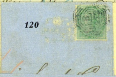 cover 1866 (6 July) entire let