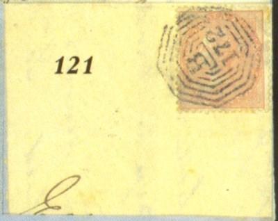 cover 1861 (13 Sept.) entire l