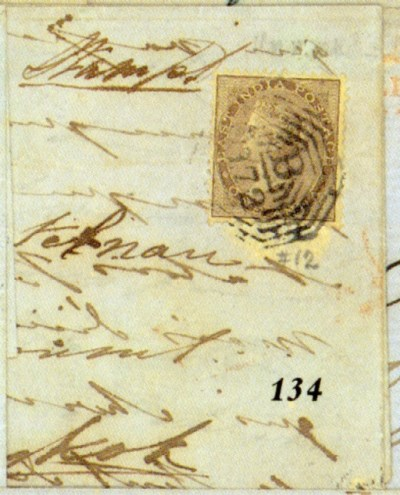 cover 1861 (Jan.) entire lette