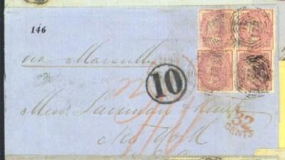cover 1864 (3 Nov.) entire let
