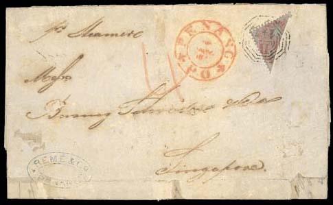 cover 1860 (28 Nov.) entire le