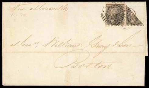 cover 1859 (21 Sept.) entire d