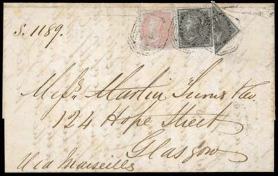 cover 1859 (Sept.) entire from