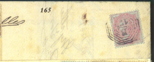 cover 1859 (7 Sept.) entire to
