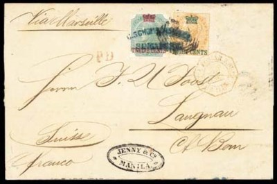 cover 1867 (23 Oct.) entire fr