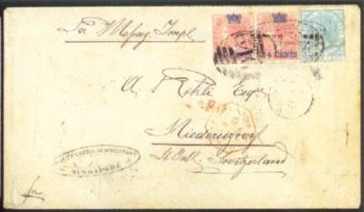 cover 1868 (6 Feb.) envelope e