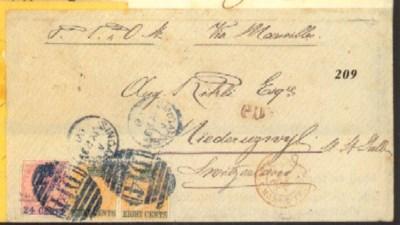 cover 1868 (23 July) envelope