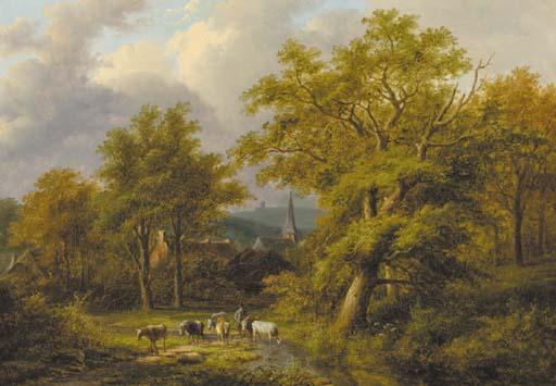 Jan Evert Morel (Dutch, 1835-1