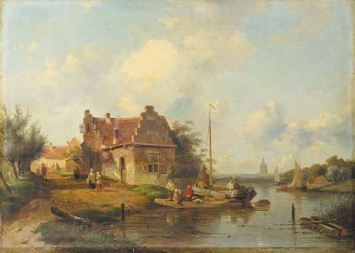 Charles Leickert (Dutch, 1861-