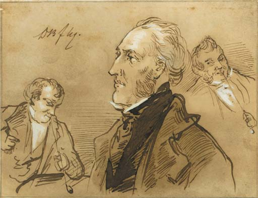 David Joseph Bles (Dutch, 1821