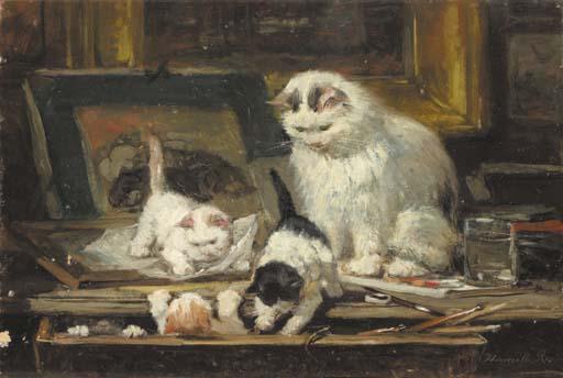 Henriëtte Ronner (Dutch, 1783-