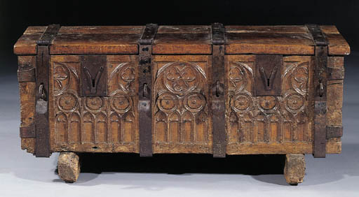 A French or Flemish iron-bound