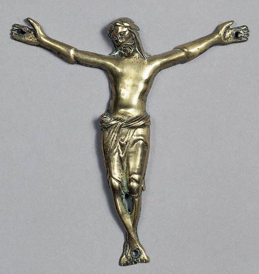A brass corpus figure