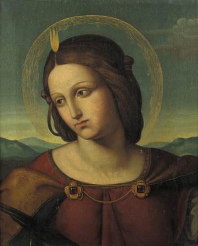 Manner of Pietro Vannucci, cal