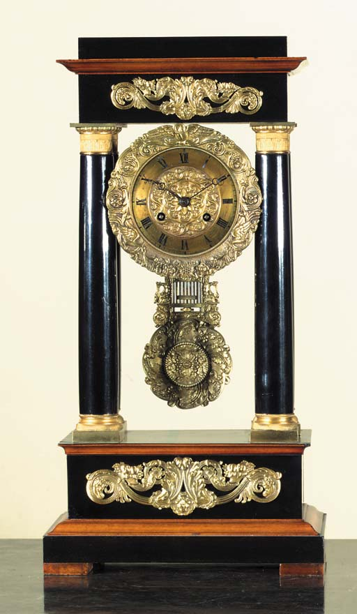 A French ormolu-mounted and eb