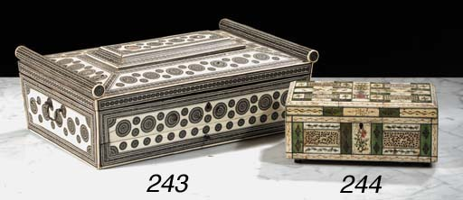 A Russian ivory and stained iv