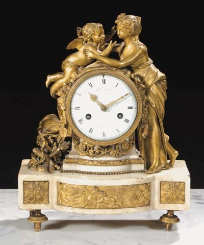 A French Louis XVI ormolu and