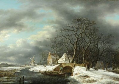Gerrit Hendrik Göbell (Dutch,