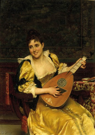 Tito Conti (Italian, 1842-1924