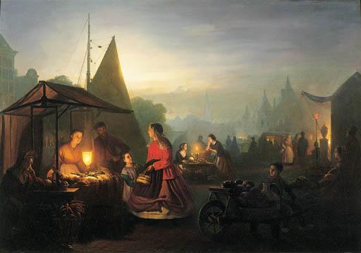 Petrus van Schendel (Dutch, 18