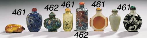 Six snuff bottles