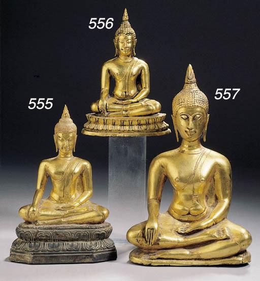 a thai, ayutthaya style, gold