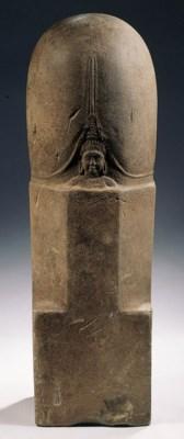 a rare pre khmer sandstone muk