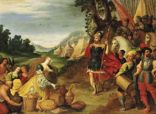 Circle of Gaspar van den Hoeck