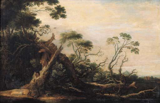 Gillis Claesz. d'Hondecoeter (1575-1638)