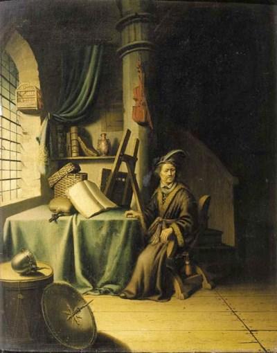Circle of Gerard Dou (1613-167
