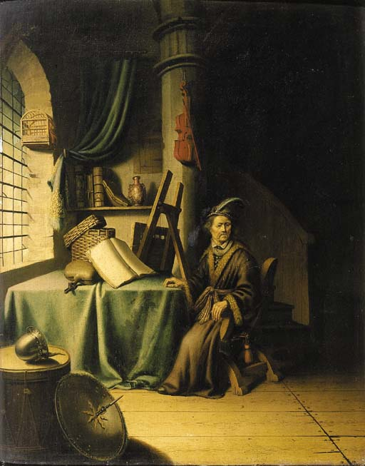 Circle of Gerard Dou (1613-1675)