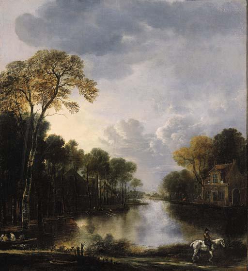 Attributed to Aert van der Neer (1603/4-1677)