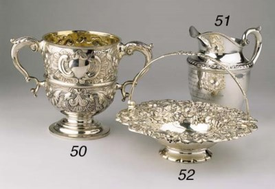 Eight various silver objects