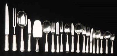 A collection of Danish silver