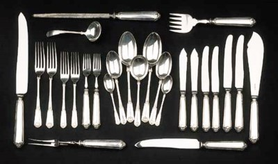 A collection of English silver