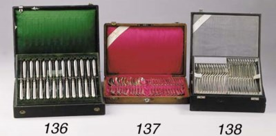 Twelve various Dutch silver de