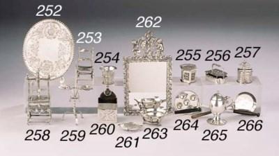 A Dutch silver miniature pesta