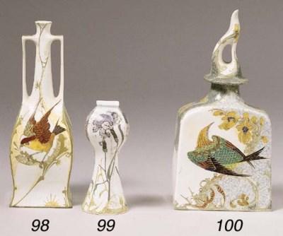 An egg-shell porcelain vase