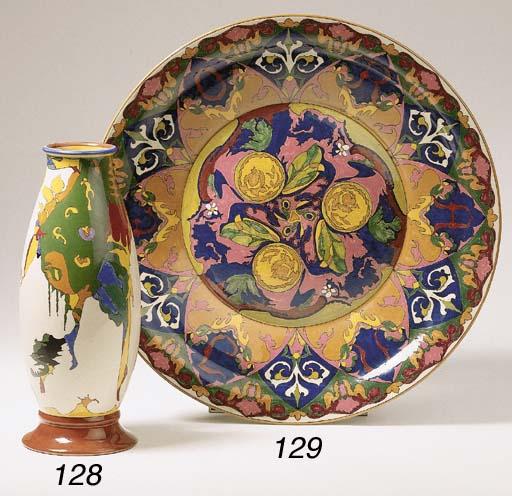'Hangend', a glazed pottery va