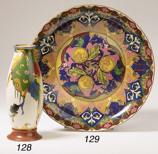 'Oranje', a glazed pottery dis
