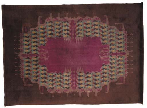 A rare Amsterdam School carpet